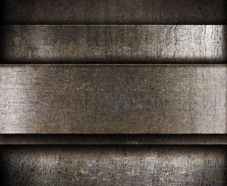 layered metal background photo