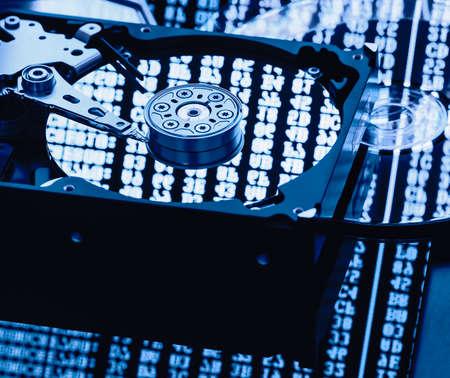 hdd: data storage computer parts