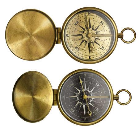 antique compass set Stock Photo - 17419450