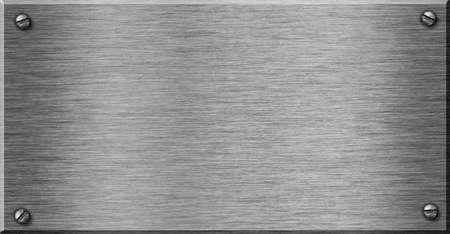 glanzende metalen plaat als achtergrond voor uw tekst