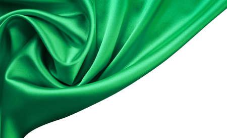 emerald: Emerald satin or silk background