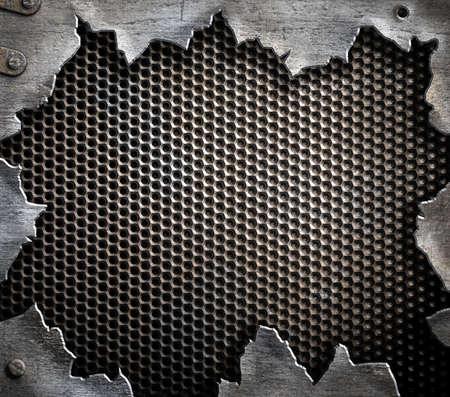 schrauben: Grunge-Metall-Hintergrund Lizenzfreie Bilder