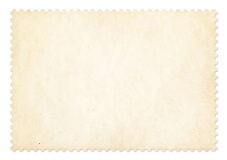 postage stamp frame: Postage stamp frame isolated  Clipping path is included