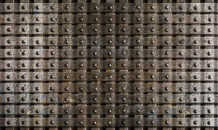 rusty steel metal medieval armour background photo