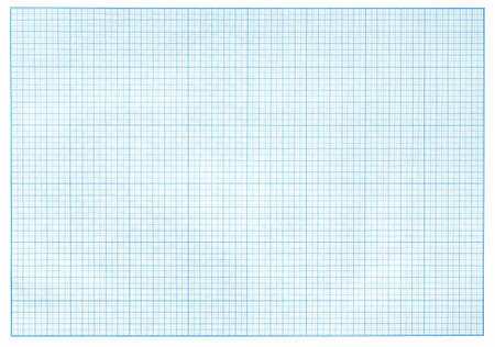 grid paper: millimeter blue graph paper real photo