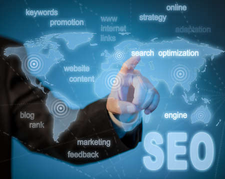 SEO search engine optimization concept photo