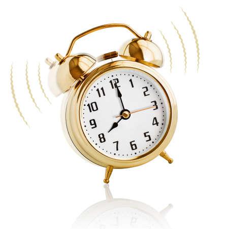 Alarm clock ringing at 8 oclock morning