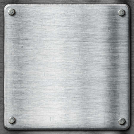 brushed steel: Metal texture template background