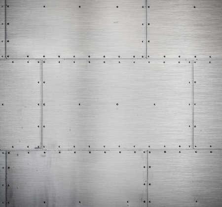 metaalpantser achtergrond Stockfoto