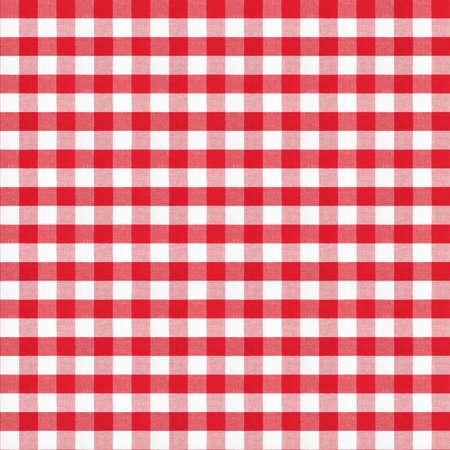 レッド ギンガム チェック古典的なテーブル クロスの実質シームレスなパターン 写真素材 - 22861146
