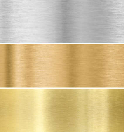 bronze: metal texture background  gold, silver, bronze collection