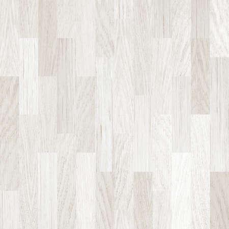 木製の床のホワイトの寄せ木張りの背景 写真素材