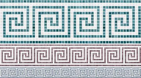 mosaic seamless pattern Reklamní fotografie