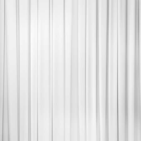 white curtain or drapes background Stock Photo
