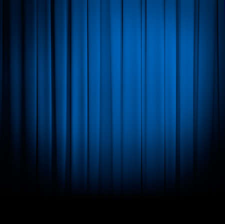 blue curtain: curtain or drapes blue background