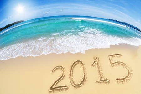 2015 on sand beach photo
