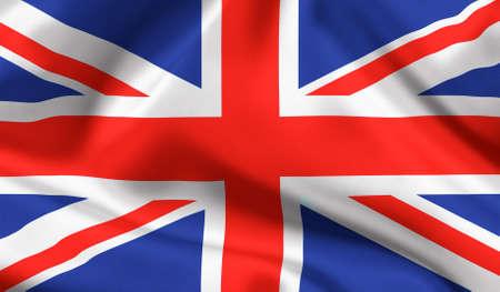 British state flag Union jack photo