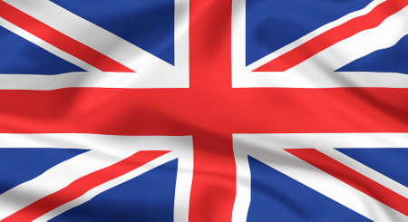 union jack: Flag of The United Kingdom  Union jack or Union flag  Stock Photo
