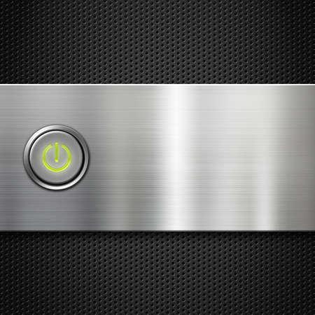 poweron: power button on