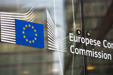 Comissão Europeia entrada oficial edifício