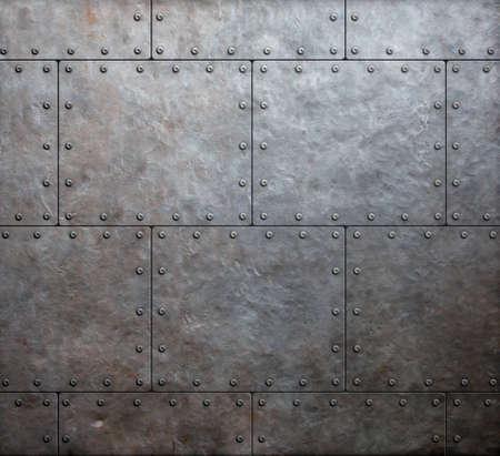 Métal des plaques de blindage fond Banque d'images - 30899862