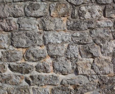 Old castle stone wall background photo