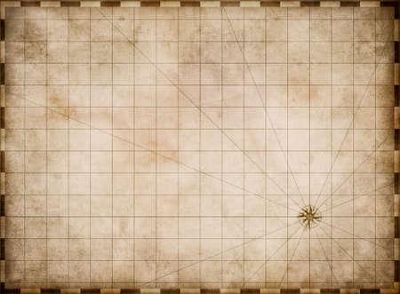 グランジ古いマップの背景