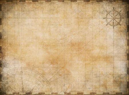aged: vecchia mappa di esplorazione e avventura background