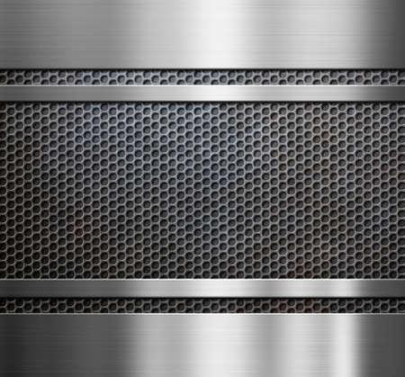 grate: metal grate background