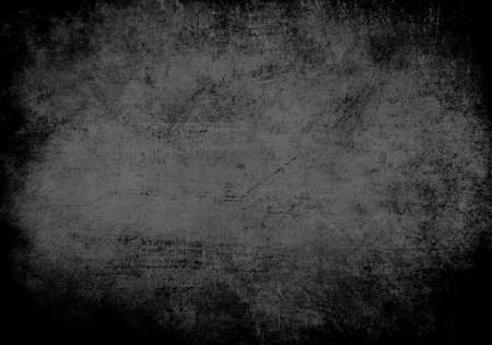 black grunge background: abstract old gray grunge background Stock Photo