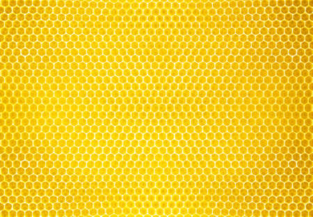 honey comb background or texture Stock Photo