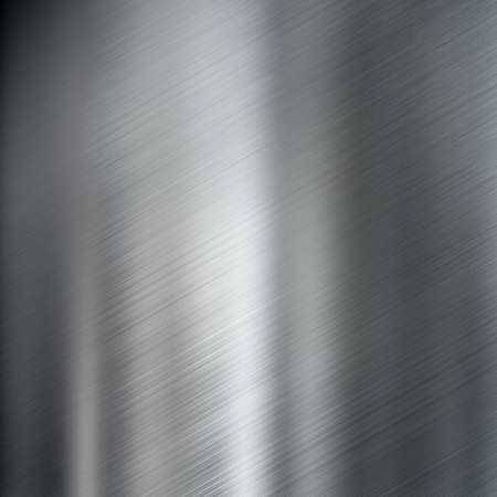 brushed steel metal texture or background photo
