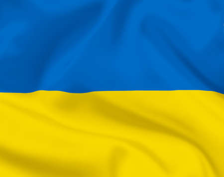 ukrainian flag: Ukrainian flag background