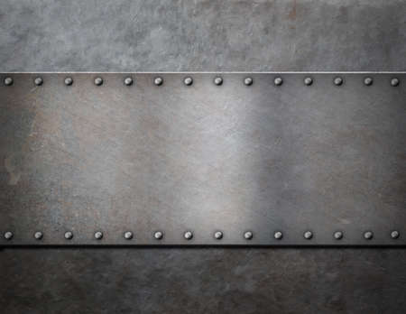 rivets: military metal steam punk background