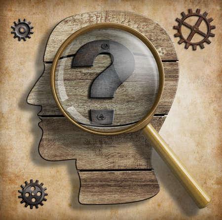 アイデアや発明と創造性の概念。 写真素材