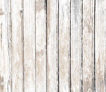 wooden fences: vintage white old wood background Stock Photo