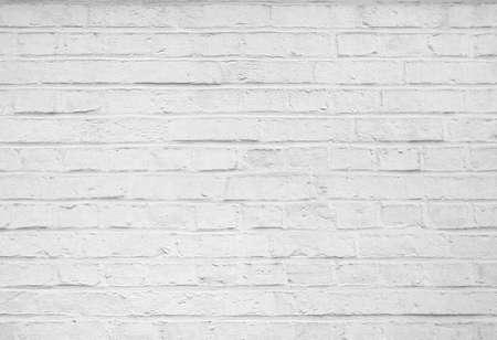 추상 오래 치장 흰색 벽돌 벽 배경