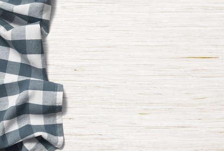 キッチン テーブル背景布でピクニック 写真素材