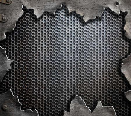 grunge metal template background Reklamní fotografie