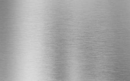 metal de plata textura de fondo Foto de archivo