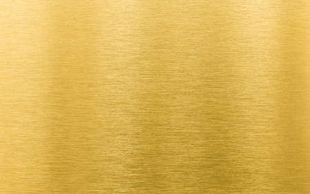 złota szczotkowanego metalu tekstury lub tła