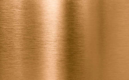 brushed: Bronze or copper metal texture background