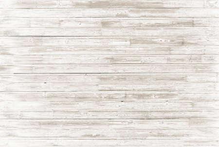 pisos de madera: el fondo de madera blanco viejo de la vendimia Foto de archivo
