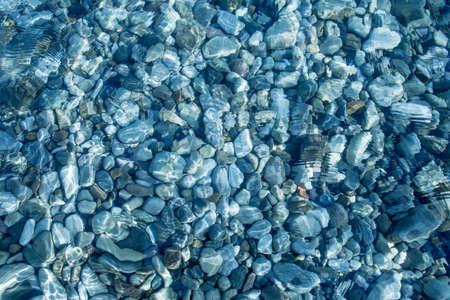 klaren Meerwasser Aufsicht