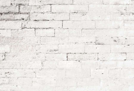 brick facades: old white brick wall background