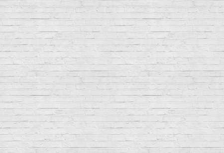 Naadloze witte bakstenen muur patroon achtergrond Stockfoto