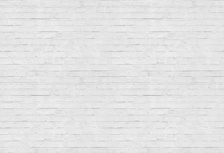 Seamless white brick wall pattern background