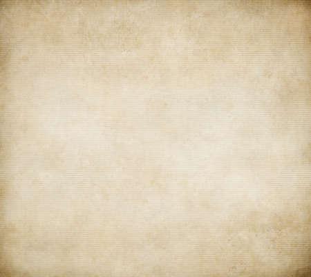 old corrugated or fluted paper background Standard-Bild