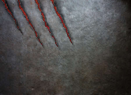 myocardial: old metal scratched by beast claws