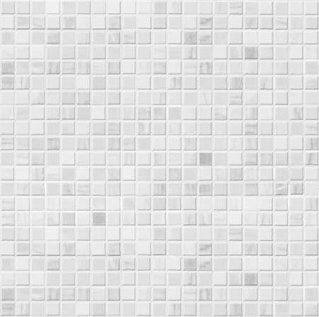 Bianco piastrella bagno in ceramica seamless per il riempimento di sfondo Archivio Fotografico - 43864320